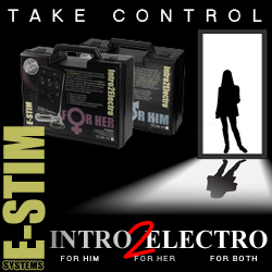 Estim systems for electro play